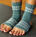 Fair Isle Yoga Socks Pattern