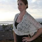 Reflection & Refraction Shawl Pattern