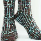 Sci-Fi Socks Pattern