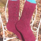 The Secret Garden Socks Pattern