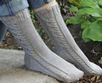 27 Knots Socks Pattern