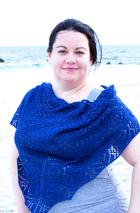 Kimberly Blue Shawl Pattern