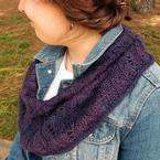 Hidden Leaves Cowl Pattern