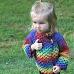 Crocodile Stitch Mandarin Crochet Coat Pattern