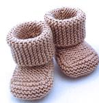 Oh Baby! Baby Booties Pattern