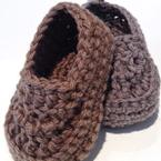 Oh Baby! Baby Boy Crochet Loafers Pattern