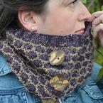 Button Up Honey Cowl Pattern