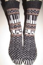 Musica: The Sock 2014 Pattern
