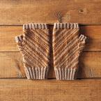 Candy Stripes Fingerless Mitts Pattern