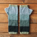 Scrunchy Ombre Arm Warmers Pattern