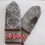 Blooming Lattice Mittens Pattern