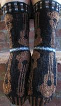 Musica Guitar Socks Pattern