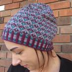 Tessellating Diamonds Slouchy Hat Pattern