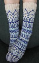 Blue Ice Socks Pattern