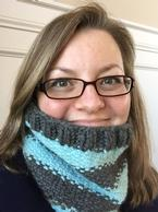 Bulky Weight Linen Stitch Cowl Pattern