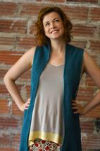 Interplait Vest Pattern
