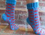 One Fish, Two Fish, Tessellated Socks Pattern