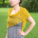 Golden Filigree Shawl Pattern