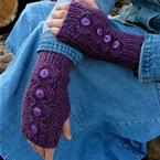 Knoppen Mitts Pattern