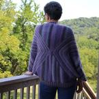 Papillon Shrug Pattern