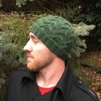 Rolling Hills Cable Hat Pattern