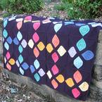 Stained Glass Afghan Pattern