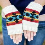 Fall Whispers Mitts Pattern Pattern