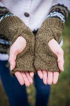 Reversible Mirrored Mitts Pattern
