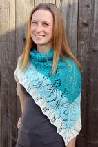 Lattice Windflower Shawl Pattern