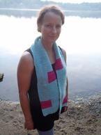 Square One Scarf Pattern
