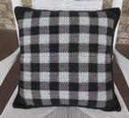 Fireside Gingham Pillow Pattern