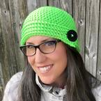 Buttoned Up Beanie Pattern