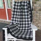 Fireside Gingham Afghan Pattern