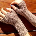 Strake and Strand Mitts Pattern