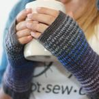 Kaleidoscope Fingerless Mitts Pattern