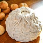 Cabled Braid Bread Warmer Pattern