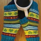 In Loving Color Mitts Pattern