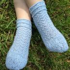 Tuliptree Lace Socks Pattern