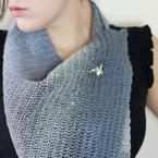 Asymmetrical Dreams Shawlette Pattern
