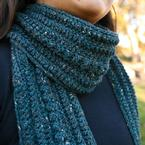 Rain on the Cobblestones Scarf Pattern Pattern