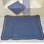 Basketweave Lace Bath Set Pattern