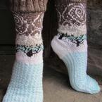 Snow Squall Socks Pattern