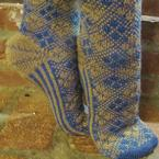 Take a Stroll Socks Pattern