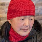 Ace of Diamonds Hat and Cowl Pattern