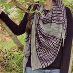 Color Code Shawl Pattern