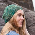 Diamond Leaf Hat Pattern