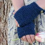 Sapphire Easy Mitts Pattern