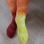 Loughrea Socks Pattern