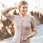Wheat Sprout Cardigan Pattern