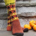 Boo!! Socks 2017 Pattern